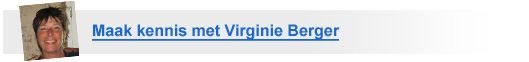 Maak kennis met Virginie Berger